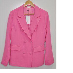Lovers + Friends Pink Blazer Jacket Size XXS